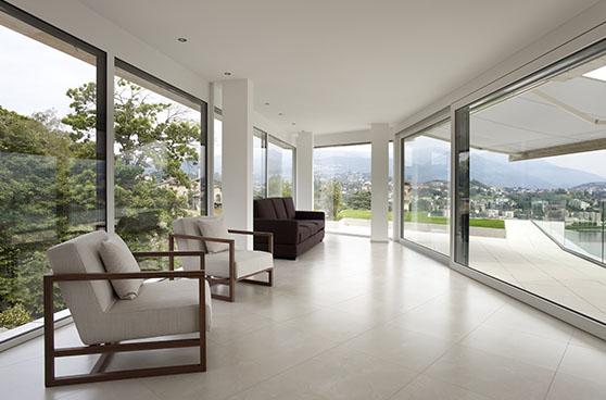 Open concept sun room