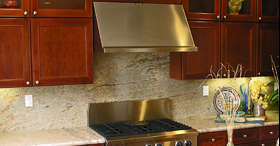 Stainless Steel stove and hood