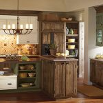 Country themed kitchen