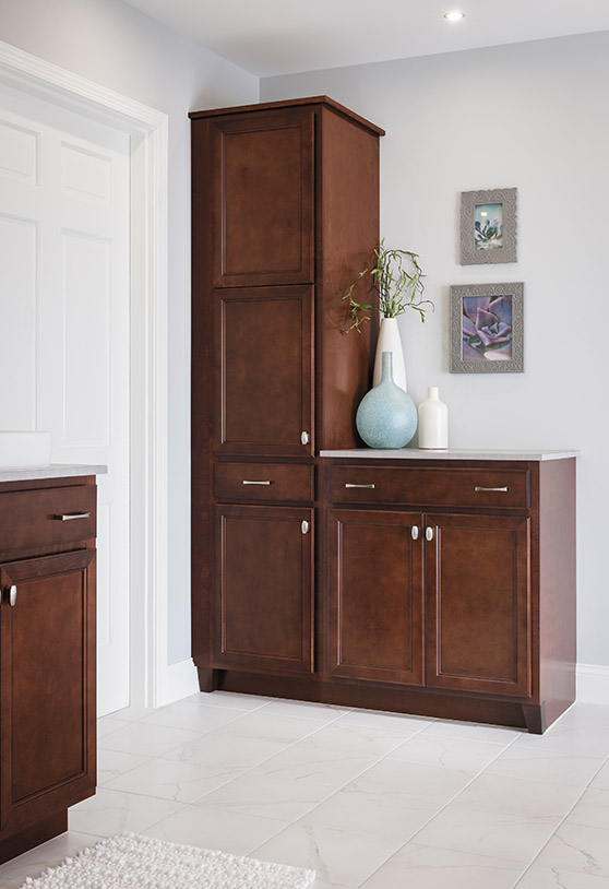 Avalon corner bathroom cabinet